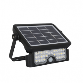 Aca LED  SMD  προβολέας  με  Φ/Β  πάνελ  &  αισθητήρα  κίνησης 8W 4000K 90° (CAMPO840)