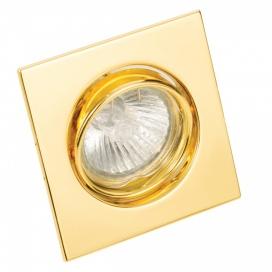 InLight Χωνευτό Τετράγωνο Φωτιστικό Κινητό GU10 Χρυσό (43278)