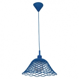 Spotlight Μονόφωτο Κρεμαστό Φωτιστικό Μπλε (2013)