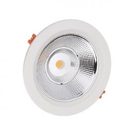 LED COB Χωνευτό Φωτιστικό PARO 40W 90° 3000K (PARO4030)
