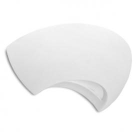 Spotlight Επιτοίχιο Γύψινο Φωτιστικό Λευκό (5669)