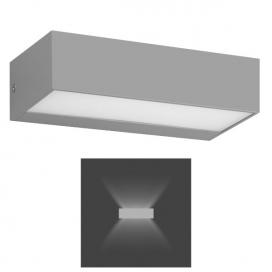 Spotlight Επιτοίχιο Led Φωτιστικό Up - Down 8W 4000K Γκρι (5913)