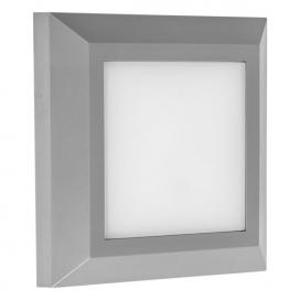 Spotlight Επιτοίχιο Led Φωτιστικό 3W 4000K Γκρι (5916)