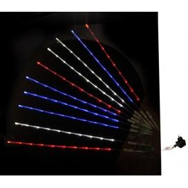 10 Φωτιζόμενα Διάφανα Κοντάρια με 8Led Πολύχρωμα (30-9677531)