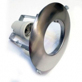 Σποτ Χωνευτό Στρογγυλό R63 E27 Νίκελ Ματ (AC.045R63NM)