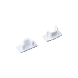Σετ πλαστικές τάπες 2 τεμ. με & χωρίς τρύπα για προφίλ P109 (EP109)