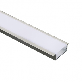 Aca NORM Προφίλ Αλουμινίου με Οπάλ Κάλυμμα (P119)