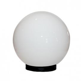 Aca Ακρυλική Μπάλα με γρίφα Λευκή Ø25 (AC.3531)