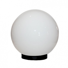 Aca Ακρυλική Μπάλα με γρίφα Λευκή Ø40 (AC.3534)