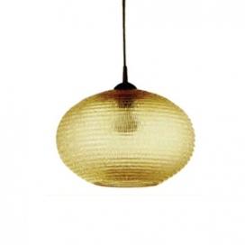 Ακρυλική Κρεμαστή Οβάλ Πρισματική Μπάλα με Ανάρτηση Μελί (AC.1837LGH)