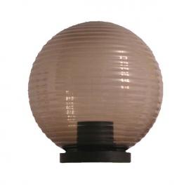 Aca Πρισματική Ακρυλική Μπάλα με γρίφα Φιμέ Ø25 (AC.18272)