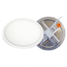 Spotlight LED SMD Adjustable panel 15W 180° 3000K (5649)