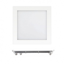 Spotlight LED SMD Slim panel 22.5x22.5 18W 180° 3000K (6207)