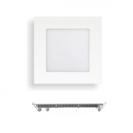 Spotlight LED SMD Slim panel 12x12 6W 180° 4000K (5240)
