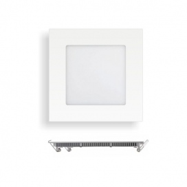 Spotlight LED SMD Slim panel 9x9 6W 180° 4000K (5239)