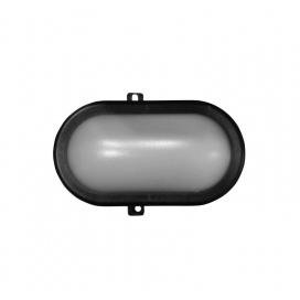 Adeleq Επιτοίχιο Φωτιστικό 6W 4000K Μαύρο (21-000611)