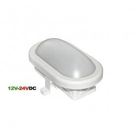 Adeleq Επιτοίχιο Φωτιστικό 6W 4000K 12V - 24V DV Λευκό (21-0006201)