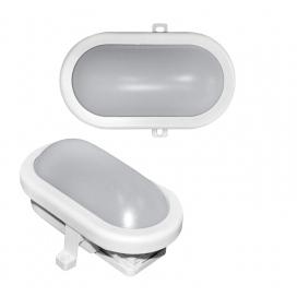 Adeleq Επιτοίχιο Φωτιστικό 10W 4000K Λευκό (21-0001001)