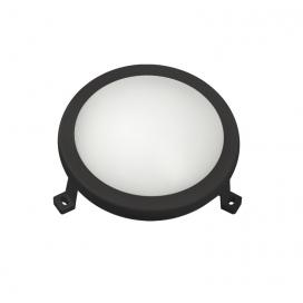 Adeleq Επιτοίχιο Φωτιστικό 6W 4000K Μαύρο (21-10611)