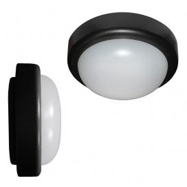 Adeleq Φωτιστικό Οροφής 18W 4000K Μαύρο (21-0051811)