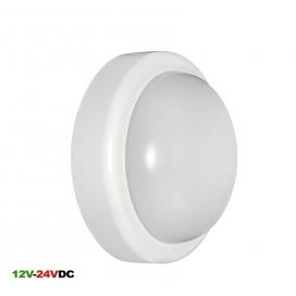 Adeleq Φωτιστικό Οροφής 10W 4000K 12V - 24V DC Λευκό (21-00510201)
