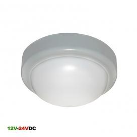 Adeleq Φωτιστικό Οροφής 10W 4000K 12V - 24V DC Γκρι (21-00510261)