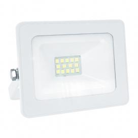 LED SMD Λευκός προβολέας Q 10W 12 - 24V DC 110° 3000K (Q1030WDC)