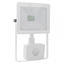 LED SMD Λευκός προβολέας με αισθητήρα κίνησης Q 10W 110° 3000K (Q1030WS)