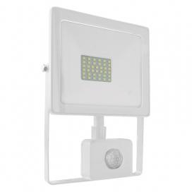 LED SMD Λευκός προβολέας με αισθητήρα κίνησης Q 30W 110° 3000K (Q3030WS)