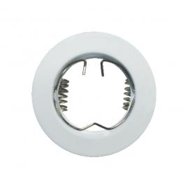 Σποτ Χωνευτό Στρογγυλό Σταθερό MR11 & Mini GU10 Λευκό (BS3161W)