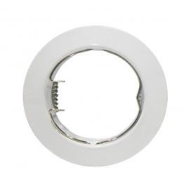Σποτ Χωνευτό Στρογγυλό Σταθερό MR16 & GU10 Λευκό (AC.0451042W)