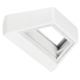 Spotlight Led Επιτοίχιο Φωτιστικό 5W Λευκό (7733)