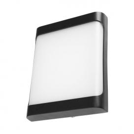 Spotlight Led Επιτοίχιο Φωτιστικό 12W Μαύρο (7735)