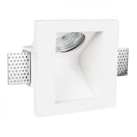 Spotlight Χωνευτό Γύψινο Φωτιστικό GU10 Λευκό (5975)