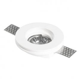 Spotlight Χωνευτό Γύψινο Φωτιστικό GU10 Λευκό (5974)