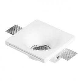 Spotlight Χωνευτό Γύψινο Φωτιστικό GU10 Λευκό(5976)