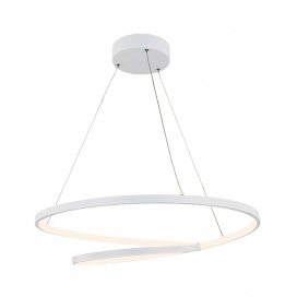 Zambelis Lights Led Κρεμαστό Φωτιστικό Οροφής Λευκό (180055)