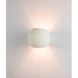 Zambelis Lights Επιτοίχιο Φωτιστικό Λευκό (180028)