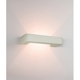 Zambelis Lights Επιτοίχιο Φωτιστικό Λευκό (180026)
