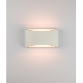 Zambelis Lights Επιτοίχιο Φωτιστικό Λευκό (180025)