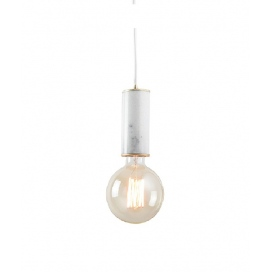 Zambelis Lights Ανάρτηση Λευκή (17076)
