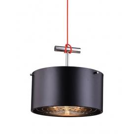 Zambelis Lights Μονόφωτο Κρεμαστό Φωτιστικό Μαύρο (16146)