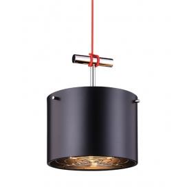 Zambelis Lights Μονόφωτο Κρεμαστό Φωτιστικό Μαύρο (16145)