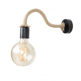 Zambelis Lights Επιτοίχιο Φωτιστικό Μαύρο (16143)