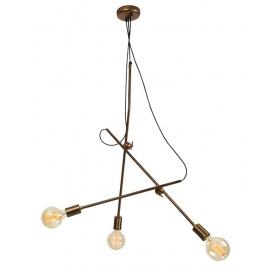 Zambelis Lights Τρίφωτο Κρεμαστό Φωτιστικό (16128)