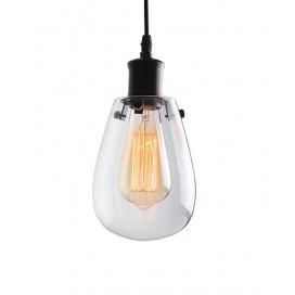 Zambelis Lights Μονόφωτο Κρεμαστό Φωτιστικό Μαύρο (16111)