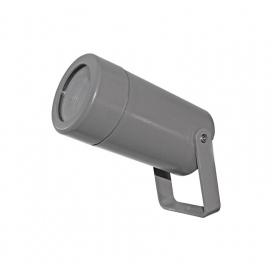 Στεγανό Πλαστικό Φωτιστικό Σποτ GU10 Γκρι (3-1601106)