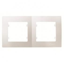 Makel Lillium Οριζόντιο Πλαίσιο 2 Θέσεων Λευκό (32001702)