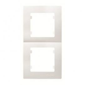 Makel Lillium Κάθετο Πλαίσιο 2 Θέσεων Λευκό (32001707)