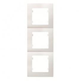 Makel Lillium Κάθετο Πλαίσιο 3 Θέσεων Λευκό (32001708)